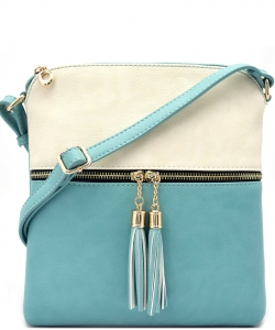 Elegant Wholesale Fashion Cross Body Bag LP062-BG/TQ