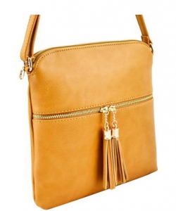 Elegant Wholesale Fashion Cross Body Bag LP062 MUSTARD