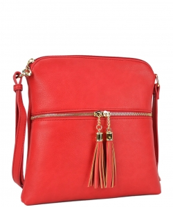 Elegant Wholesale Fashion Cross Body Bag LP062 RED