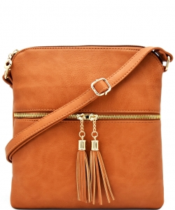 Elegant Wholesale Fashion Cross Body Bag LP062 TAN