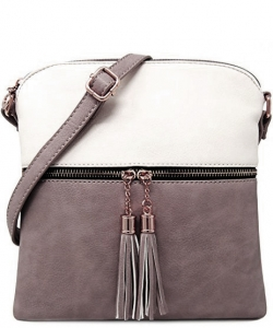 Elegant Wholesale Fashion Cross Body Bag LP062-WT/PEWTER