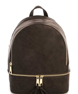 New Fashion Backpack LP1062 CHARCOAL GRAY