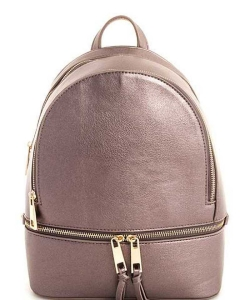 New Fashion Backpack LP1062 PEWTER