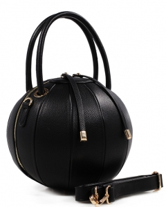 Fashion Ball Color Block  Handbag LS1818