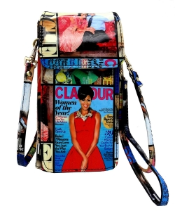 NEW Michelle Obama Cellphone Wallet Wristlet Collection mp3811 MULTI