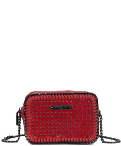 Nicole Lee Ismay Square Chain Mini Crossbody Bag MQ12805