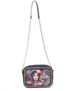 Nicole Lee Lolanthe Exclusive Print Small Crossbody Bag mq12809