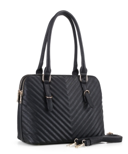 New Fashion Satchel Handbag MW-3639  BLACK