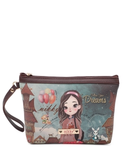 Nikky Aurelie Large Cosmetic Pouch NK20344 Hailee Dreams Big