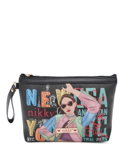 Nikky Aurelie Large Cosmetic Pouch NK20344 Vicky Does Sports