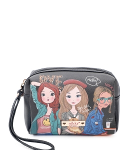 Nikky Perdita Cosmetic Pouch NK20347 Girls Want to Have Fun