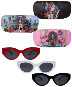 6 Pack of Nikky Aliaina Cat-eye Sunglasses  nk20392