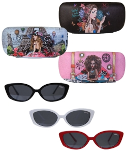 6 Pack of Nikky Mckenzie Square Sunglasses  nk20395