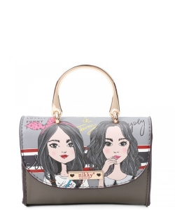 Nikky Super Mini Square Handbag NK21002 Twin Sister