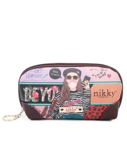 Nikky Love Me Tender Cosmetic Pouch NK21008