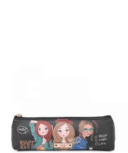 Nikky Long Slim Pouch NK21010 Girls Want to Have Fun