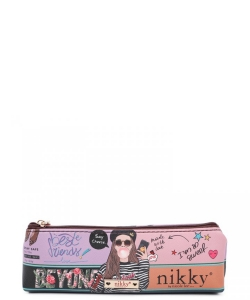 Nikky Long Slim Pouch NK21010 Love Me Tender