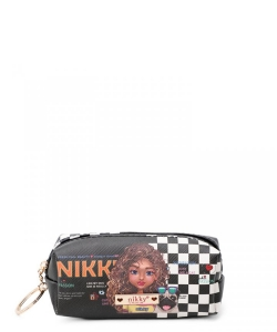 Nikky Small Rectangular Coinpurse with Key Ring NK21011 Sasha the Cuite