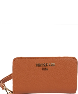 Nicole Lee Leigh Wallet with Cellphone Compartment P6144 CAMEL