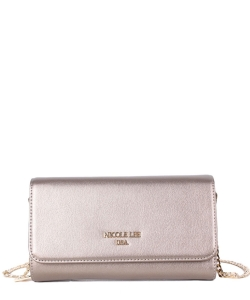 Nicole Lee Adair Wallet on Chain P6412 Gunmetal