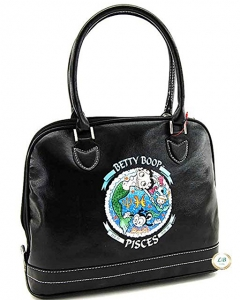 Betty Boop Zodiac Purse with Top Handles ZHB9059