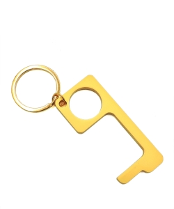 Touch-less Door Opener Keychain PMK001 GOLD