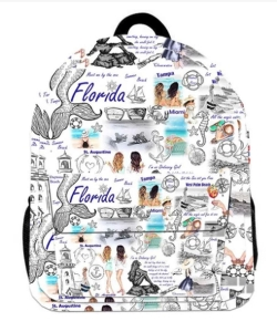 Oh Fashion Backpack Travelling FLORIDA PROH-AC1235
