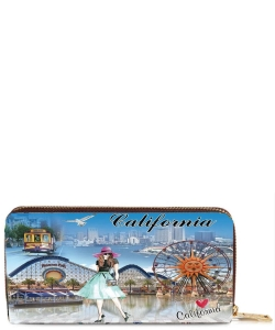 OH Fashion Wallet Around California  PROH-AC1269