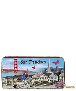 OH Fashion Wallet Discover San Francisco PROH-AC1272