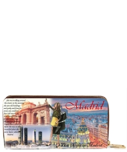 OH Fashion Wallet Wonderful Madrid PROH-AC1337