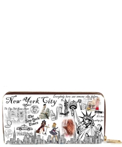 OH Fashion Wallet Unforgettable New York  PROH-AC1340