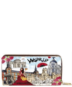 OH Fashion Discovering Madrid Wallet  PROH-AC1385
