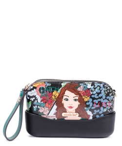 Nicole Lee Multi Compartment Clutch PRT15141 CATCH ME