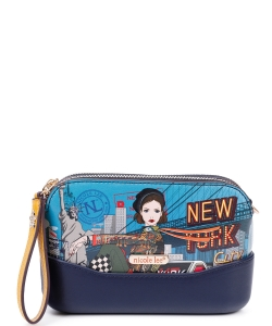 Nicole Lee Multi Compartment Clutch PRT15141 NY DRIVE