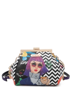 Nicole Lee Frame Crossbody Bag PRT15155  Everyday is my day