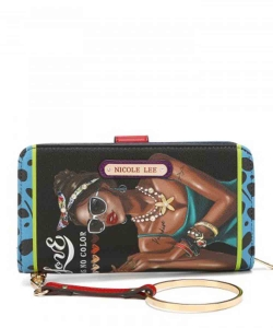 Nicole Lee Fashion Print Wallet PRT6700 LATOYA