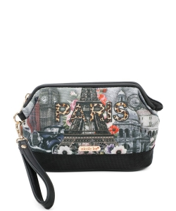 Nicole Lee Cosmetic Pouch PRT6909 Paris in Fall