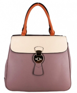 PW-1378 TP/BG Two Tone Fashion Handbag