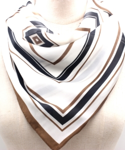 Stripe Pattern Fashion Scarf SF300095 IVJT
