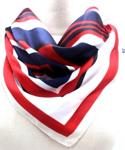 Stripe Pattern Fashion Scarf SF300095 LMCB