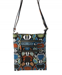 Fashion Faux Snake Messenger Bag SLM093 MULTI4
