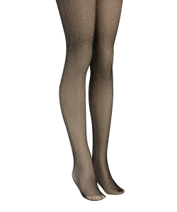 12 pcs Rhinestone Fishnet Tights SO320003
