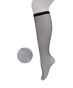 12 Pairs Fishnet Knee High Socks SO400023