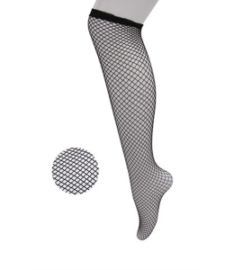 12 Pairs Fishnet Knee High Socks SO400024
