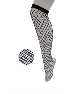 12 Pairs Fishnet Knee High Socks SO400025