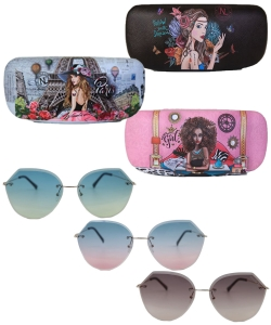 6 pack Nicole Lee Aviana Round Sunglasses SUN6743
