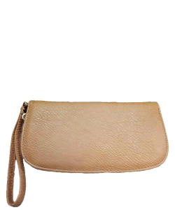 Faux Leather Wallet T0003 Wheat