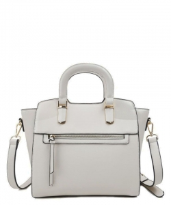New Fashion Satchel Bag T2583 offwhite