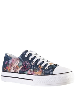 Nicole Lee Classic Denim Sneakers TS21138 ANGELINA FD