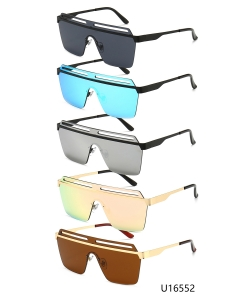 12 Pieces/Pack Unisex Designer Western Sunglasses U16552a